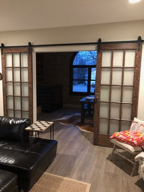 Sliding Barn Double Door, Fishers IN